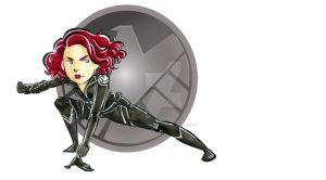 Avengers Black Widow by dances-with-hipsters