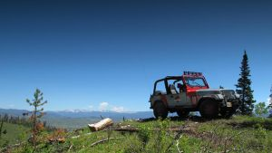 Jurassic Park Jeep-To the Top by Boomerjinks
