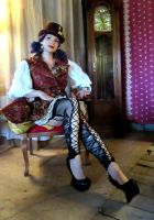 Steampunk Outfit by sophien
