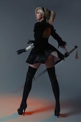 Mercy Overwatch 2B Cosplay BLIZZARD by AGflower