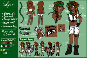 Lyre Reference 2016 by KestrelsongArt