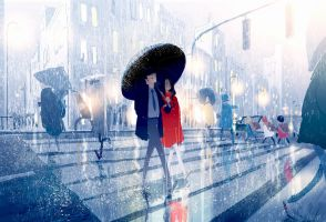 Even on a rainy day. by PascalCampion