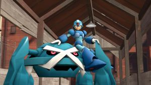 [SFM] Mega Man X and Metagross