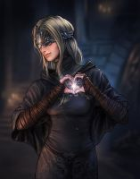 Firekeeper Loves you by JPerezS