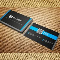 Clean and Minimal Business Card by maruf1