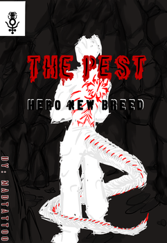 new comic Cover. new title: The Pest by MadArtTattoo
