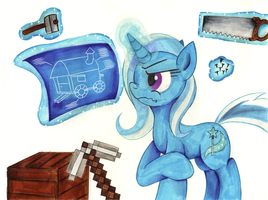 Comission - Trixie the Builder by jamescorck