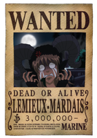 Mardais Wanted Poster by MissFynd