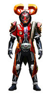 Kamen Rider D-Ghost Heart Damashii by tuanenam