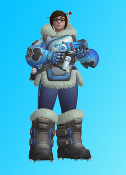 Overwatch - Mei (XPS) by dawadd