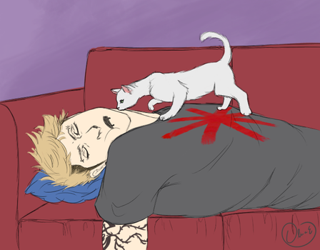 Jean and his Little Furry Princess by fangirlregretsnothin