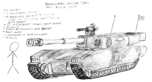 Broadsword MBT by Jay-Hawkeye