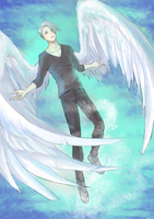 Ice angel ( Victor ) by Janea1