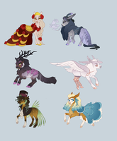 Chibi Adopts | Alice in Wonderland by queerly