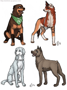 Bleach Doggies 7 by emlan