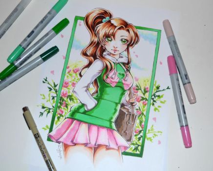 College Sailor Jupiter by Lighane