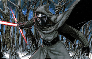 Kylo Ren from STAR WARS: THE FORCE AWAKENS by Hodges-Art