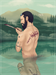 Let The Water Wash Away Your Sins by CrazedTheratis