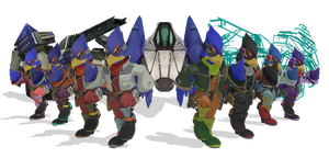 [MMD] SSB Wii U Falco DL by ShadowlesWOLF