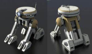 T3 Astromech Droid by wolfmage75
