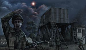 Operation Pegasus Bridge by VonBrrr