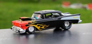 57 Pro Street Bel Air by boogster11