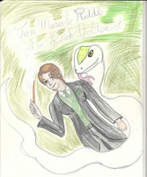 The Heir of Slytherin - Traditional by Cians-Sacred-Lair