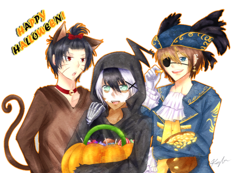 Halloween '11 by xPhruit