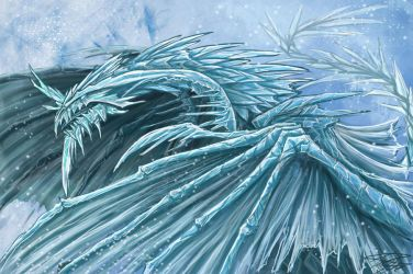 Ice Dragon by Ruth-Tay