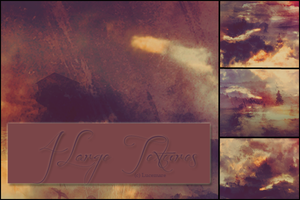 4 Large Textures by lucemare