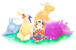 My Pokemon Team HeartGold by The-Blue-Wind