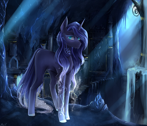 Ruins of the castle by AliceSmitt31