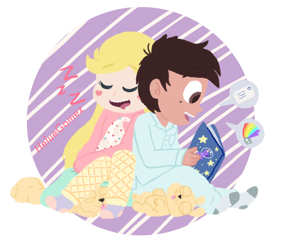 .:Starco_Family_Bonding:. by heluethehedghehog