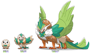 Rowlet - Fake Evolution
