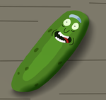 National Pickle Day-Pickle Rick by MyMelodyOfTheHeart