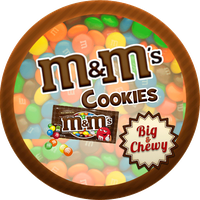 Big and Chewy M and M Cookies by Echilon