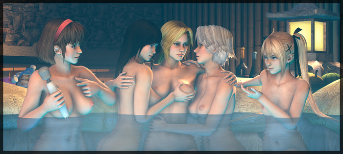 Girls on the hot springs [Part 4] by Ozon971Games