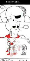 Undertale: A Human's Heart Weighs a Skele-ton 5 by Tsunaamii