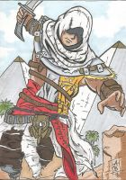 Assassin's Creed: Bayek by Elvatron