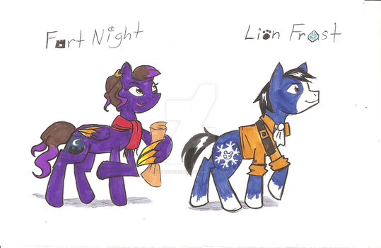 Missing Link MLP Friends by Scared2dream