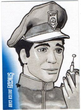 Stingray Sketchcard by amines1974