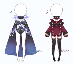 {Closed} Auction Outfit 287 - 288 by xMikuChuu