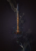 Illustrated 2D Sword for PC Visual Novels by Dinzhos