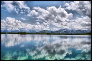The mirror water by DegradeFlower