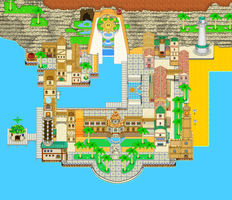 Delfino Plaza 2D style by Yuese
