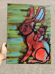 Giant bunny by wildgica