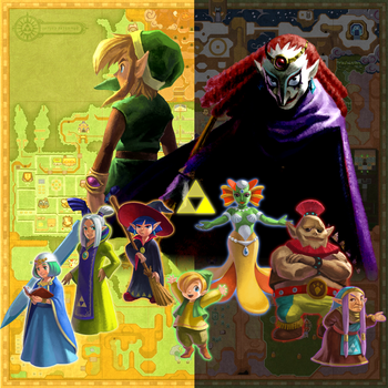 A Link Between Worlds - The New Seven Sages by Legend-tony980