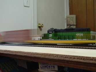 Woodstock and Southern GP9M #1709 by Tracksidegorilla1