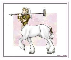 Centaur for Balorkin - Yeto by Phinist