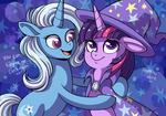 Friends? by CatsnCupcakes